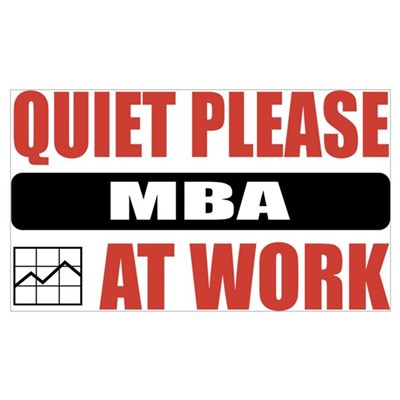 MBA Work Poster