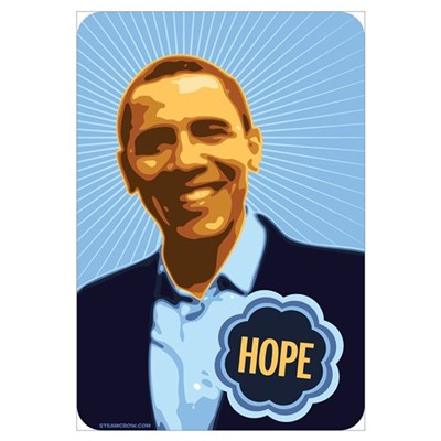 Barack Obama Hope Canvas Art