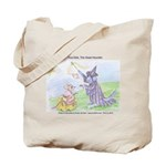 """Inca Dink, The Great Houndini"" Tote Bag"