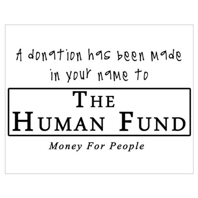 A Donation Has Been Made In Y Poster