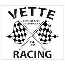 Vette Racing Poster