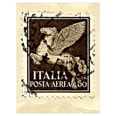 Pegasus Stamp Poster