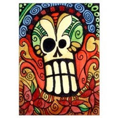 Day of the Dead Sugar Skull 1 Poster