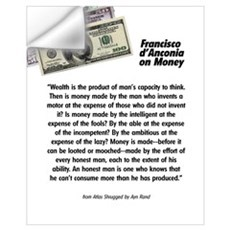 Francisco on Money Wall Decal