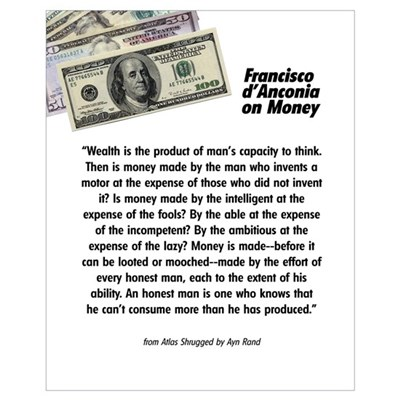 Francisco on Money Poster