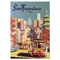 San Francisco Travel Framed Print