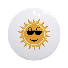 Sunshine Ornament (Round)