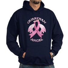 Pink Guardian Angel Hoodie