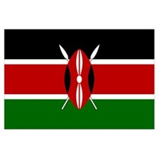 Flag of Kenya Poster