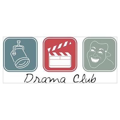 Drama Club (Squares) Poster
