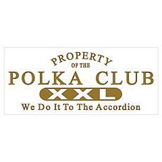 Polka Club Poster