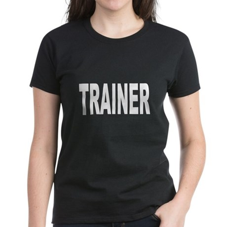 Trainer Women's Dark T-Shirt