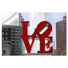 Love Park Wall Decal