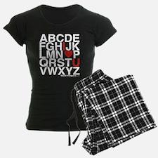 Alphabet Love Pajamas