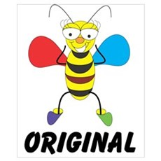 Bee Cute Poster