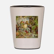 Gnomes, Elves & Forest Fairies Shot Glass