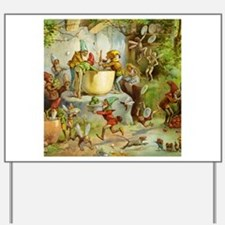 Gnomes, Elves & Forest Fairies Yard Sign
