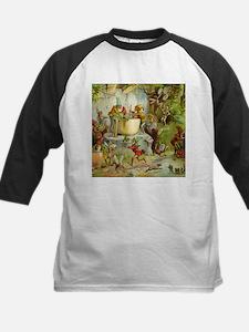 Gnomes, Elves & Forest Fairies Kids Baseball Jerse