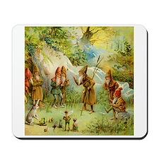 Gnomes, Elves & Forest Fairies Mousepad