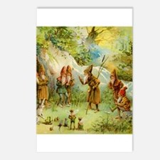 Gnomes, Elves & Forest Fairies Postcards (Package