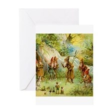 Gnomes, Elves & Forest Fairies Greeting Card