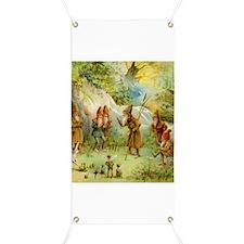 Gnomes, Elves & Forest Fairies Banner