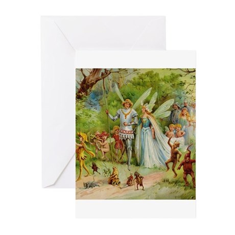 Fairy Prince and Princess Greeting Cards (Pk of 10