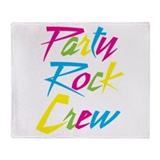 Party Rock Throw Blanket