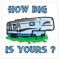 How big is yours? Poster