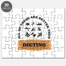 dieting is bad hate it Puzzle