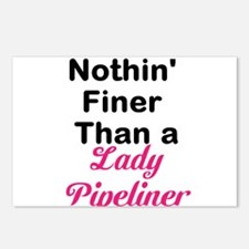 Lady Pipeliner Postcards (Package of 8)