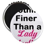 Lady Pipeliner Magnet