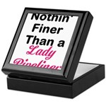 Lady Pipeliner Keepsake Box