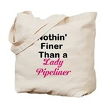 Lady Pipeliner Tote Bag