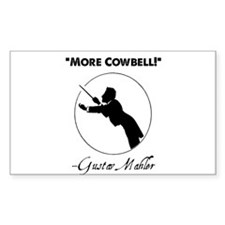 """Mahler """"More Cowbell!"""" Redux Decal"""