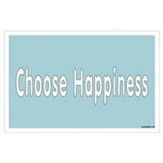 Choose Happiness Poster