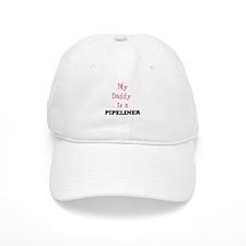 Daddy Pipeliner- Pink Baseball Cap