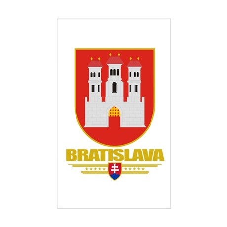 Bratislava COA Sticker (Rectangle)
