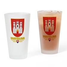 Bratislava COA Drinking Glass