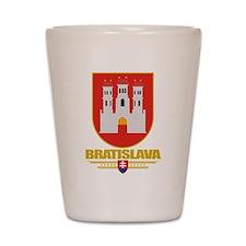 Bratislava COA Shot Glass