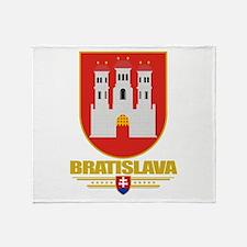 Bratislava COA Throw Blanket