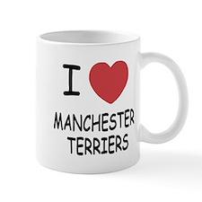 I heart manchester terriers Mug