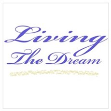 Living the Dream Stars Poster