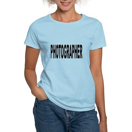Photographer Women's Light T-Shirt