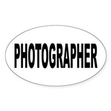 Photographer Decal
