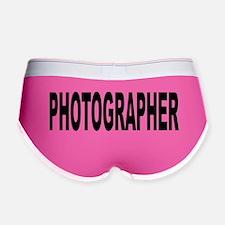 Photographer Women's Boy Brief