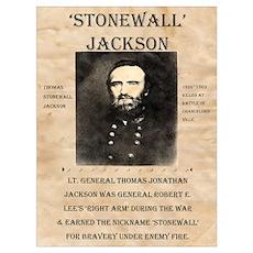 Stonewall Jackson Poster