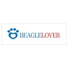 Beagle Lover Poster