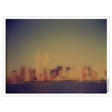"""Manhattan Skyline"" Poster"