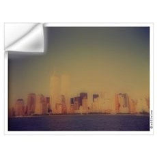 """Manhattan Skyline"" Wall Decal"